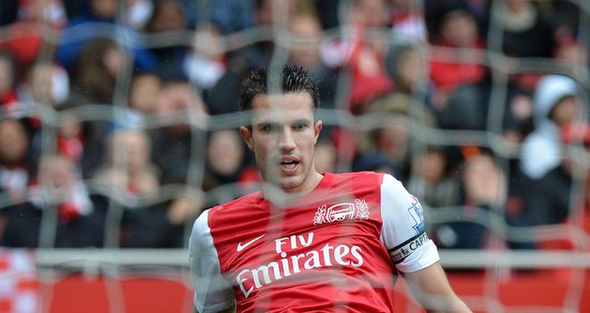 Robin van Persie: Juventus claim to have cooled their interest in the Arsenal man