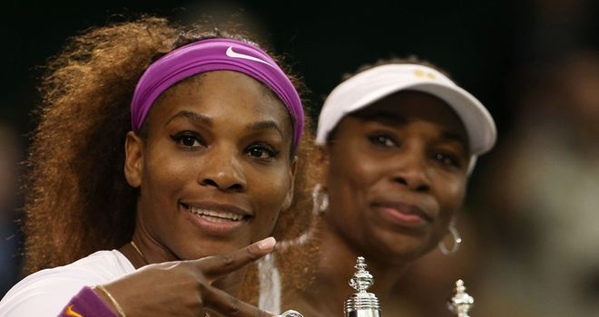 Serena and Venus Williams: Wimbledon doubles champs again