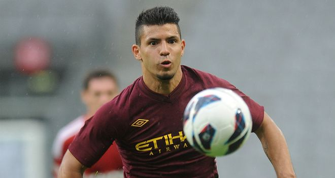 Sergio Aguero: Could return to competitive action in the colours of his country