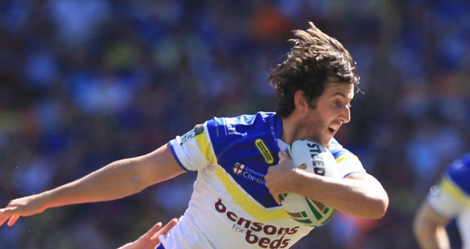 Stefan Ratchford: limped off during Warrington's win at the Stobart Stadium