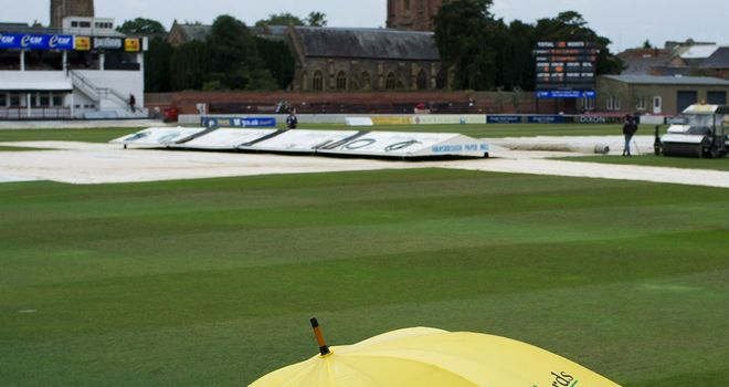 The wet weather failed to dampen profits at Taunton