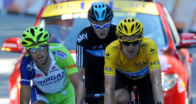 Bradley Wiggins: Finished in a select group alongside Vincenzo Nibali and Chris Froome