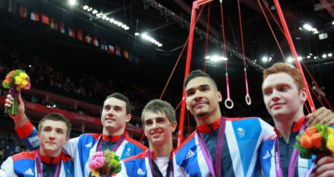 Great Britain's gymnasts rose to the occasion in London