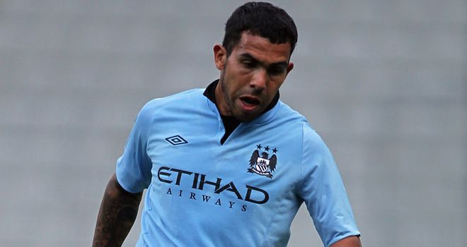 Carlos Tevez: The Argentine seemed certain to leave City last season before returning and apologising