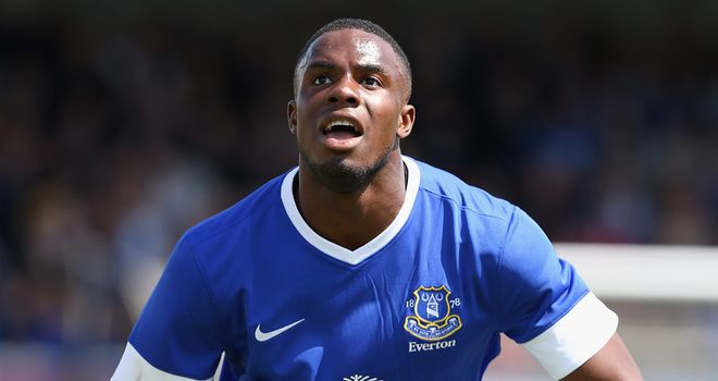 Victor Anichebe: Striker hit a number of important goals for Everton last season