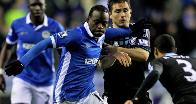 Victor Moses: Wigan winger wants to join Chelsea and Dave Whelan is waiting for his asking price to be met