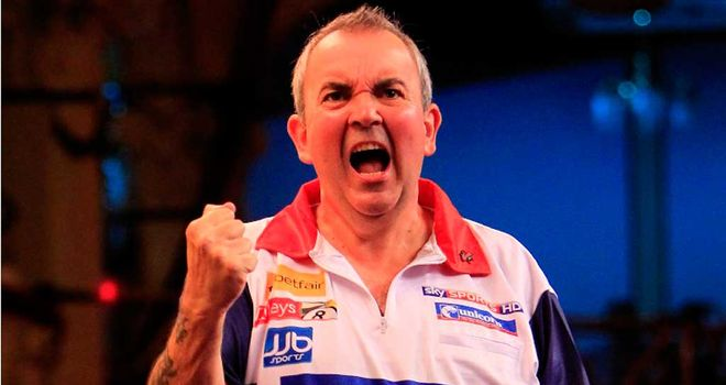 Phil Taylor: began the match with a 114 checkout