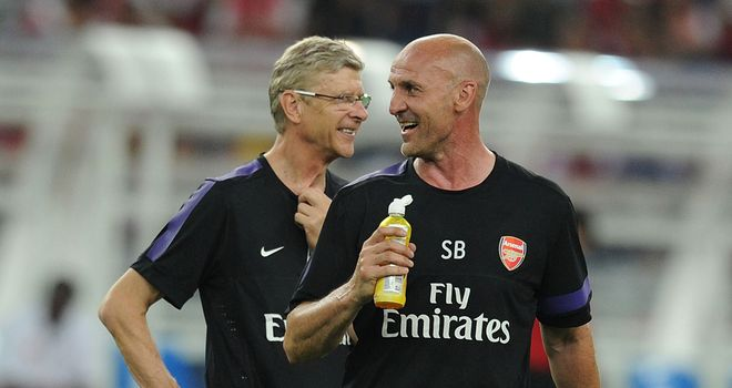 Steve Bould: Arsenal No.2 was at the helm with Arsene Wenger in the stands