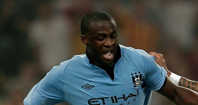 Yaya Toure: Eyeing improvement in next season's Champions League