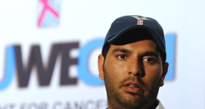 Yuvraj Singh: Hoping to play in the Twenty20 World Cup in September