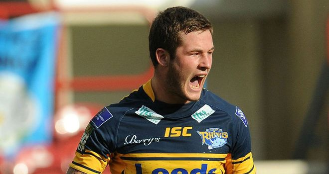 Zak Hardaker: rapid rise through the rugby league ranks