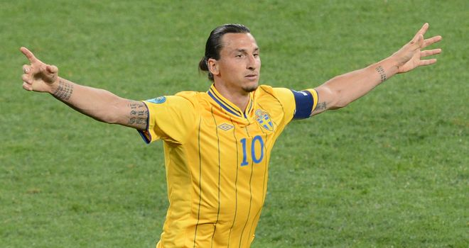 Zlatan Ibrahimovic: Has spoken of admiration for Steven Gerrard
