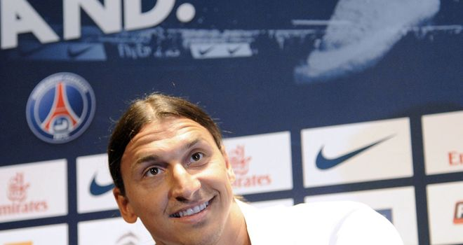 Zlatan Ibrahimovic: Has completed his big-money move to Paris St Germain