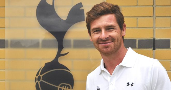 Andre Villas-Boas: New boss claims Spurs are very near to winning trophies