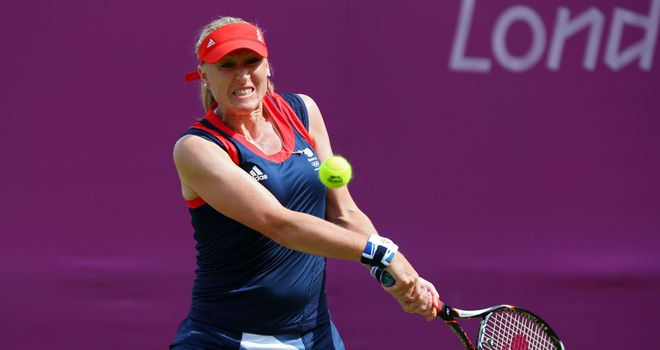 Elena Baltacha: Former British No 1 hoping to be back in April