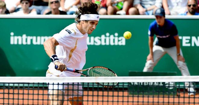 David Ferrer: Clay courts suiting the world No 4 very nicely
