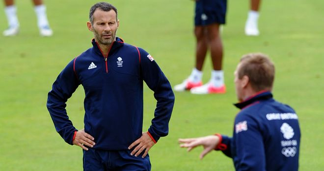 Stuart Pearce & Ryan Giggs: Going for gold at the 2012 Olympics