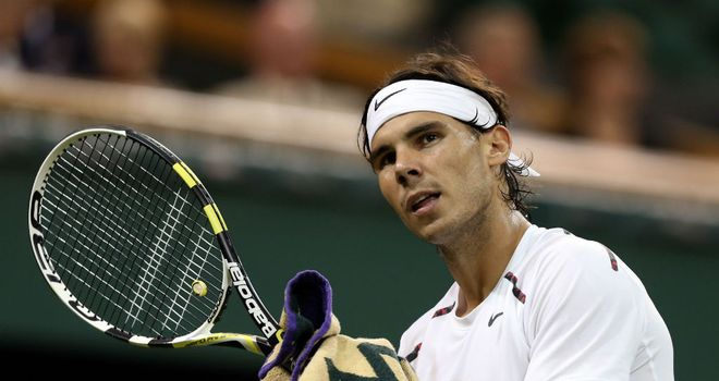 Rafael Nadal: Will take two weeks off after suffering tendinitis in his knee