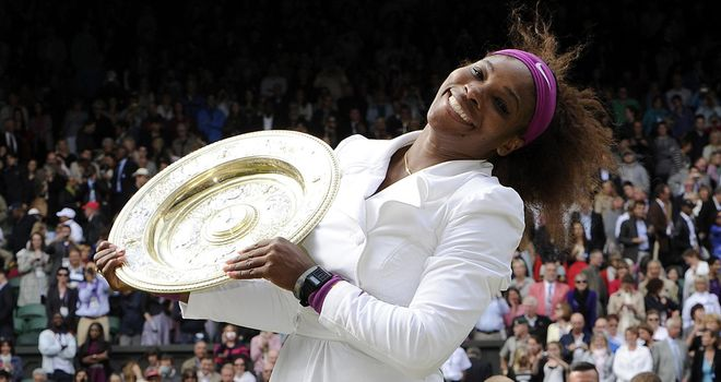 Serena Williams: A five-time champion at the All England Club