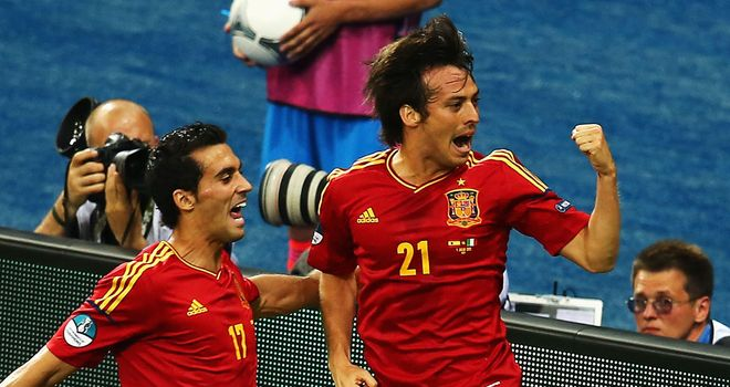David Silva: Is targeting the Champions League with Manchester City next season after lifting the Premier League and Euro 2012