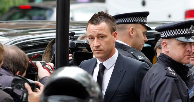 John Terry: Chelsea captain has denied he 'snapped' and used a racist obscenity