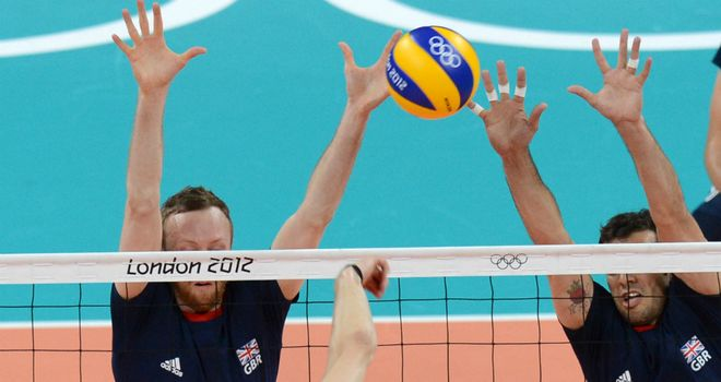 GB attempt to block Adam White's spike