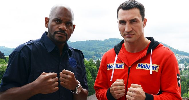 Tony Thompson (L): Lost to Wladimir Klitschko