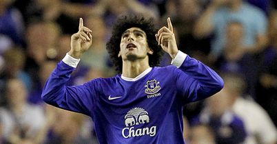 Marouane Fellaini: Performances are drawing admiring glances
