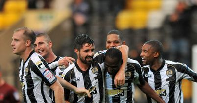 Francois Zoko: Netted twice for County in second-half fightback