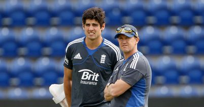 Andy Flower insists Alastair Cook's England Test squad are heading in the right direction