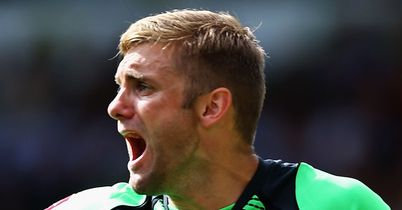 Robert Green: Backed by Park to brush off Kenny criticism