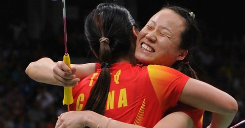 China victorious again