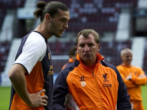 Andy Carroll missed out through injury