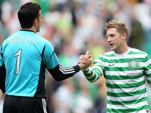 Langfield's error meant Commons' goal secured Celtic's win