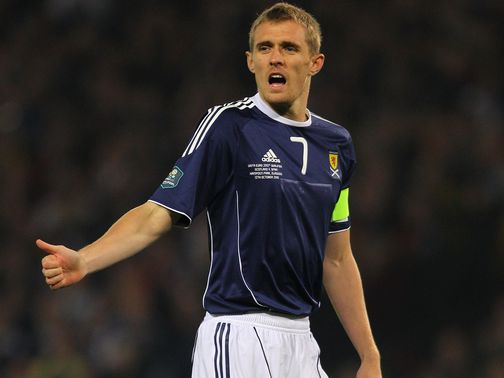 Darren Fletcher: Desperate to beat Belgium for Levein