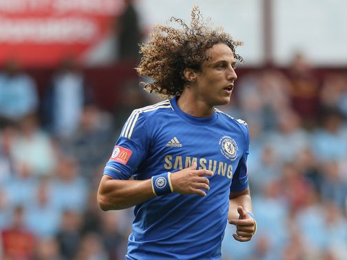 David Luiz: Linked with switch to Barcelona