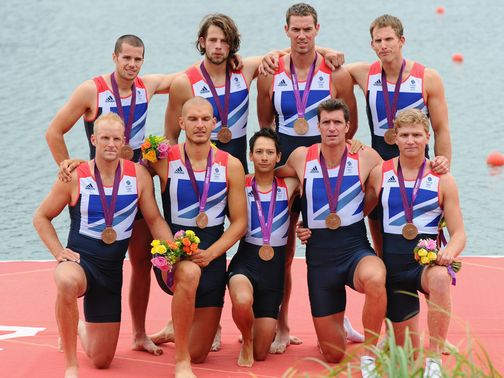 Great Britain claimed bronze medals