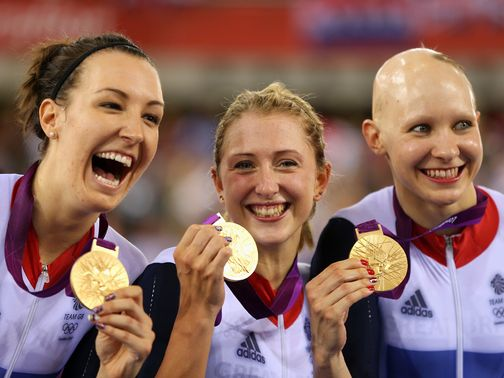 The GB team set another new world record claiming gold