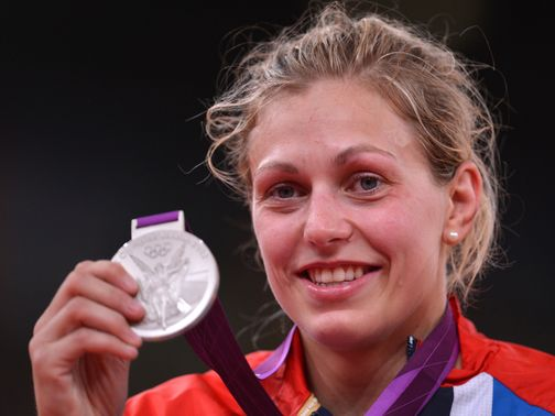 Gemma Gibbons: Silver medal at London 2012