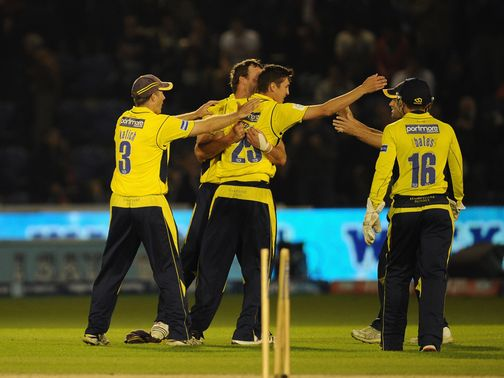 Hampshire again came out on top in the t20 final