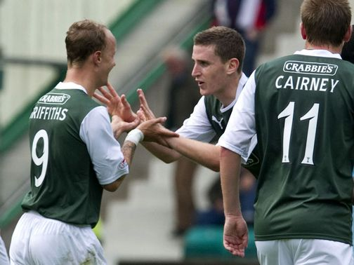 Paul Hanlon: Back in contention for Hibs