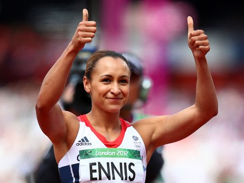 Jessica Ennis: One of 12 SPOTY nominees