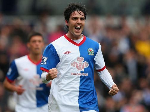 Mauro Formica: Gave Blackburn the lead