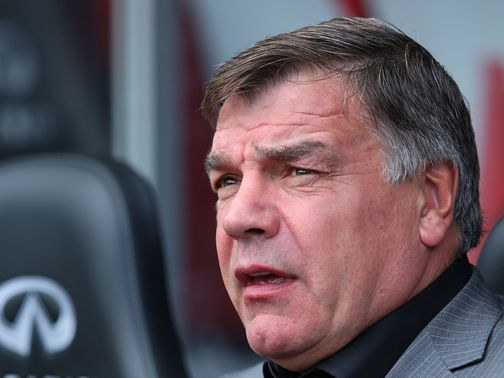 Sam Allardyce: Backed by Kevin Nolan
