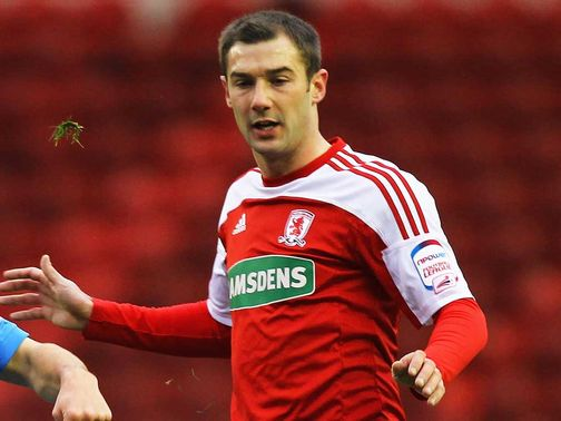 Kevin Thomson: Released by Middlesbrough