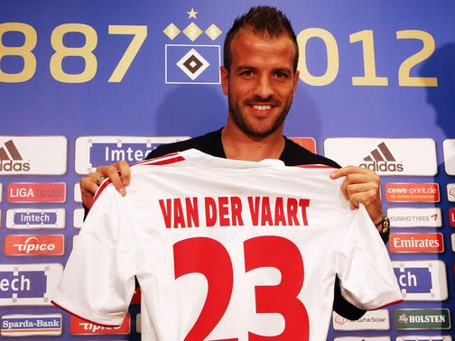 Rafael van der Vaart: Back at Hamburg