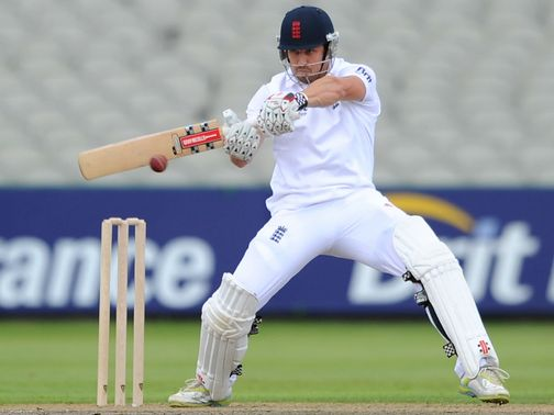 Nick Compton: Hoping to impress for England