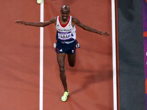 Farah: Strong finish to win Olympic 10,000 metres gold