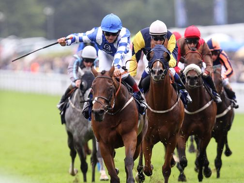 Johannes bursts through to win at Goodwood.