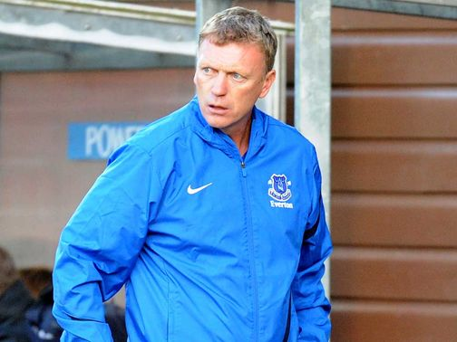 Moyes: Looking to move up the league